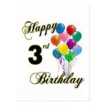 3ro postales del cumpleaños y tarjetas de cumpleañ