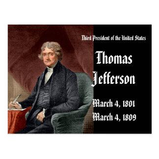 3ro Presidente Of el StatesThomas unido Jefferson Postales