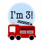 3ro Primero de la torta del coche de bomberos del  Esculturas Fotograficas