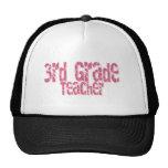 3ro profesor apenado rosa del grado del texto gorra
