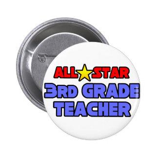 3ro profesor del grado de All Star Pins