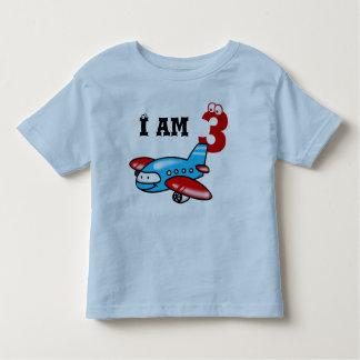 3ro regalo del muchacho del cumpleaños (aeroplano) tee shirt