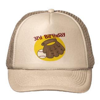 3ro regalos de cumpleaños del béisbol gorra