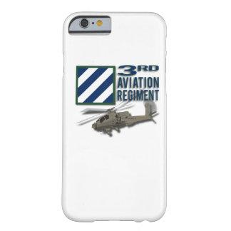 3ro Regimiento Apache de la aviación Funda De iPhone 6 Barely There