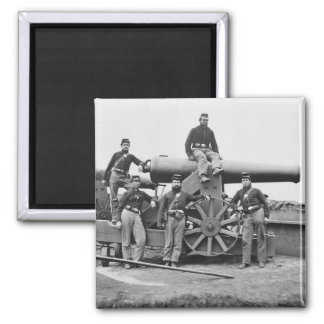 3ro Regimiento, artillería pesada de Massachusetts Imán Cuadrado