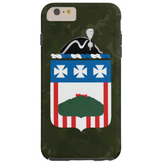 """3ro Regimiento de infantería """"la vieja guardia"""" Funda De iPhone 6 Plus Tough"""