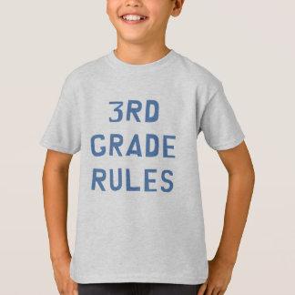 3ro Reglas del grado Playera