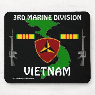 3ro Vietnam marino Mousepad 2/b Alfombrillas De Ratón