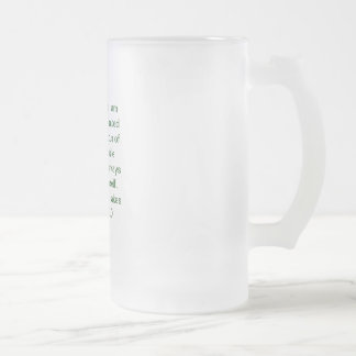 3SqMeals # 191 Frosted Glass Mug