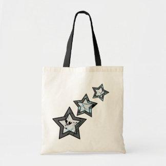 3Star Abstract Tote Bag