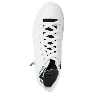 3V Custom Zipz High Top Shoes, US Men 4 / US Wom