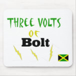 3volts of bolt mouse pad