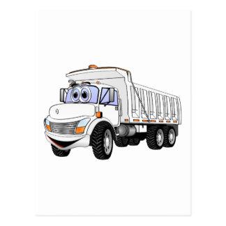 3WA Dump Truck Cartoon Post Card