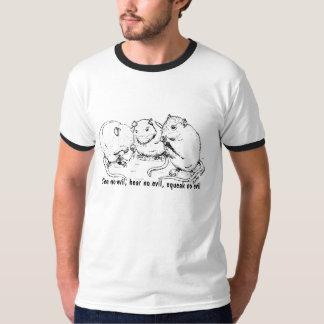 3wisefuzzmonkies, See no evil, hear no evil, sq... Shirt