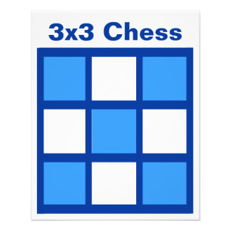 "3x3 - Chess TAG Grid (1-1/4"" fridge magnets) Flyer"