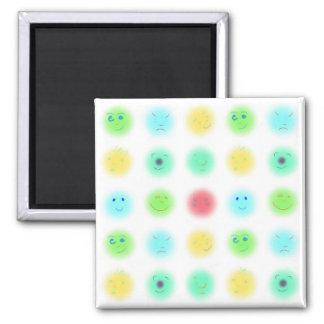 3x3 Little Faces A1 Magnet