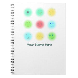 3x3 Little Faces A1 Notebooks