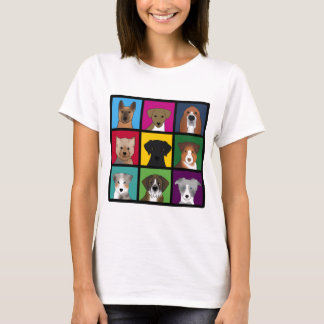 3x3 of dogs T-Shirt