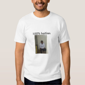 3X 022, 100% haitian Shirt