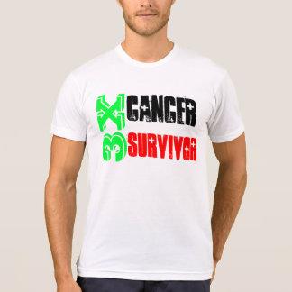 3X Cancer Survivor - Customizable T Tee Shirt