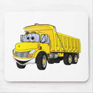 3YA Dump Truck Cartoon Mouse Pad