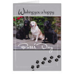 4004 Boss's Day Dogs, All of Us Greeting Card