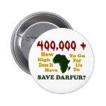 400.000+ CONCIENCIA 1 DE DARFUR PIN