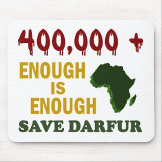 400,000+ DARFUR AWARENESS 2 MOUSE PAD