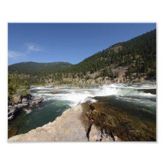 400 8/12 Kootenai Falls in Libby,MO. Photo Print