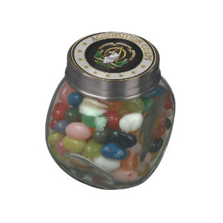 [400] Acquisition Corps (AAC) Branch Insignia [3D] Jelly Belly Candy Jar