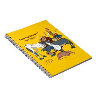 400 años de @QUIXOTEdotTV del Don Quijote Libro De Apuntes