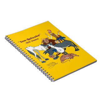 400 años de @QUIXOTEdotTV del Don Quijote Libro De Apuntes Con Espiral