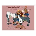 400 años de @QUIXOTEdotTV del Don Quijote Postal