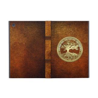 [400] Árbol de la vida céltico [oro] iPad Mini Cárcasa