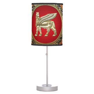 [400] Babylonian Winged Bull Lamassu [3D] Desk Lamp