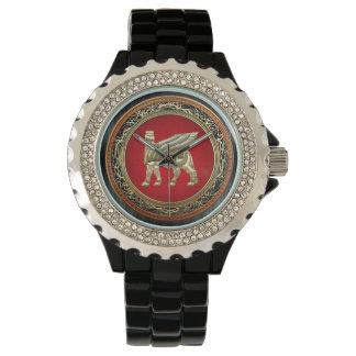 [400] Babylonian Winged Bull Lamassu [3D] Watches