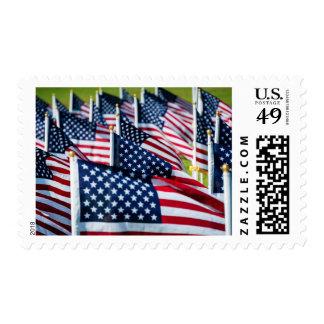 400 banderas que agitan orgulloso en un campo envio