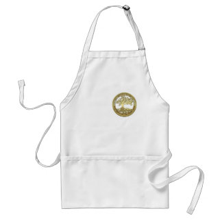 [400] Celtic Tree of Life [Gold] Aprons