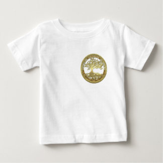 [400] Celtic Tree of Life [Gold] Baby T-Shirt