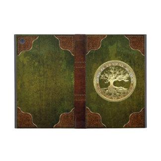 [400] Celtic Tree of Life [Gold] Cases For iPad Mini