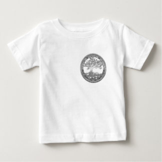 [400] Celtic Tree of Life [Silver] Baby T-Shirt
