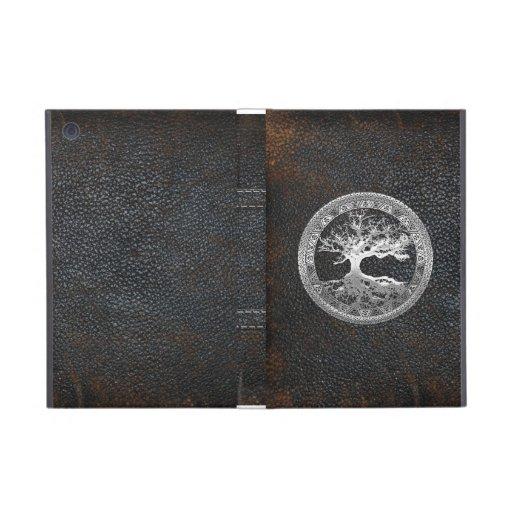 [400] Celtic Tree of Life [Silver] Cover For iPad Mini