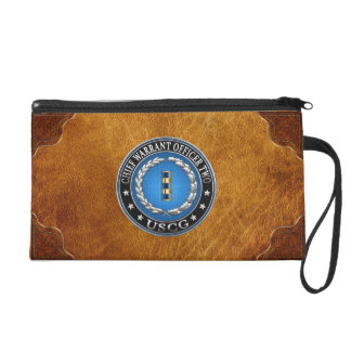 [400] CG: Chief Warrant Officer 2 (CWO2) Wristlet Purse