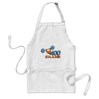 400 Club Weightlifting Adult Apron