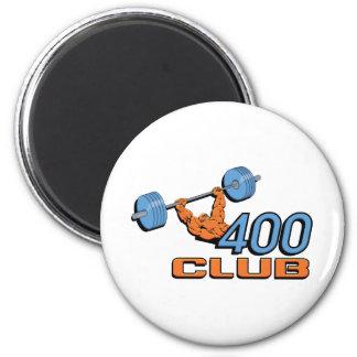 400 Club Weightlifting Magnet