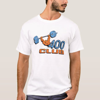 400 Club Weightlifting T-Shirt