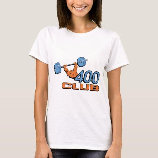 400 Club Weightlifting T-Shirt