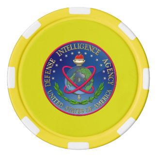 [400] Defense Intelligence Agency (DIA) Seal Set Of Poker Chips