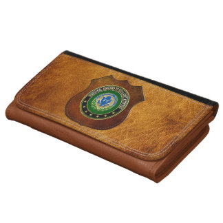 [400] DOD & Joint Activities DUI Special Edition Leather Wallet