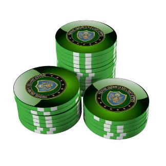 [400] DOD y edición especial común de las activida Juego De Fichas De Póquer